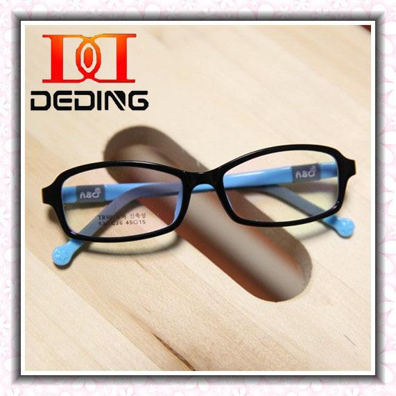 Crianças coloridas óculos de Silicone meninos meninas miopia ambliopia leves óculos crianças quadro Silicone DD0288