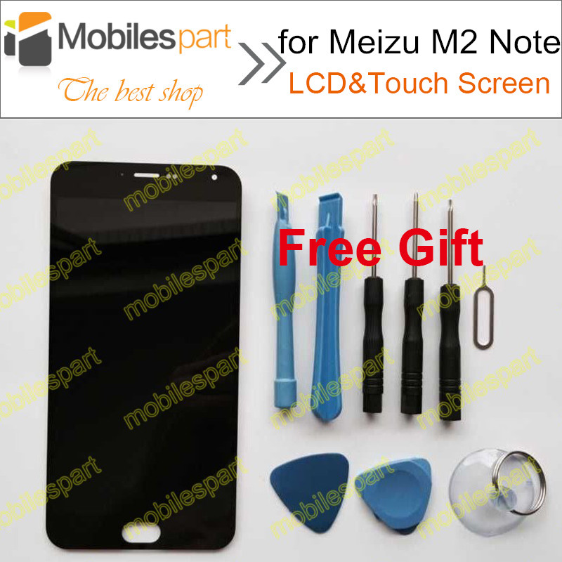 LCD font b Screen b font for Meizu M2 Note New High Quality LCD Display font
