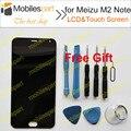 Tela de lcd para meizu m2 note novos acessórios de alta qualidade display lcd + substituição da tela de toque para meizu m2 note frete grátis
