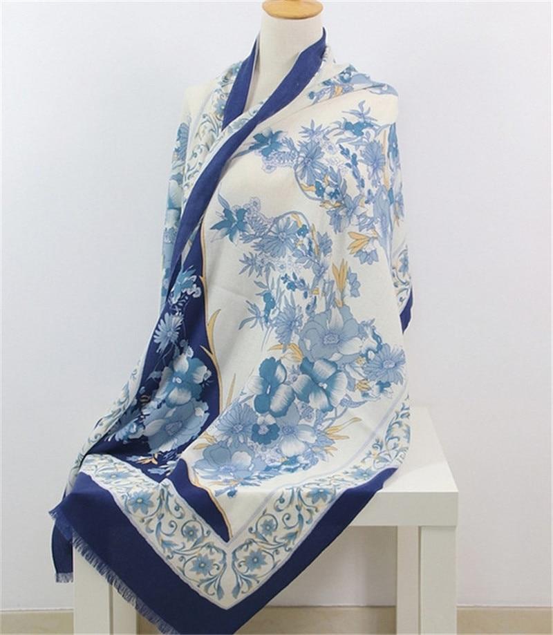 top grade 100%cashmere women fashion printed scarfs shawl pashmina 70x200cm red 2color
