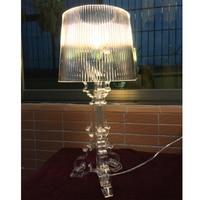 GZMJ Modern White Black Table Lamp Light Fixtures Famous Design Fashion Study Bedside Desk Light Lamps