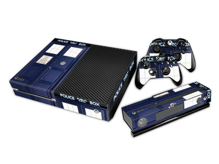 Compare prices on kinect xbox 1 online shoppingbuy low price doctor who decal skin sticker for xbox one console kinect 2 controller covers 1 sciox Gallery