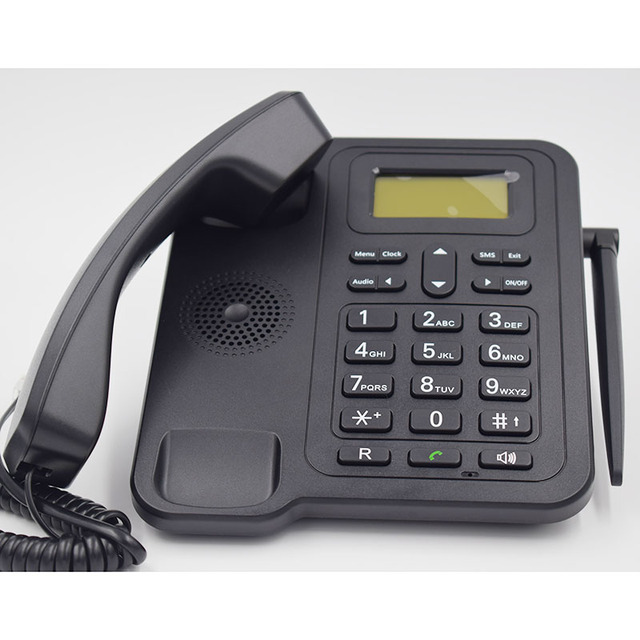 EU Version 3G Desk Phone Classic 24 Dual Band Fixed Wireless 3G