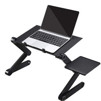 Netbook Or Tablet With Mouse Pad Table Laptop Stand With Adjustable Folding Ergonomic Design Stand Notebook Desk For Ultrabook