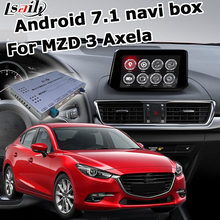 Caja de navegación GPS Android para Nueva Mazda 3 axela con Carplay inalámbrico youtube google play caja de interfaz de vídeo waze yandex(China)