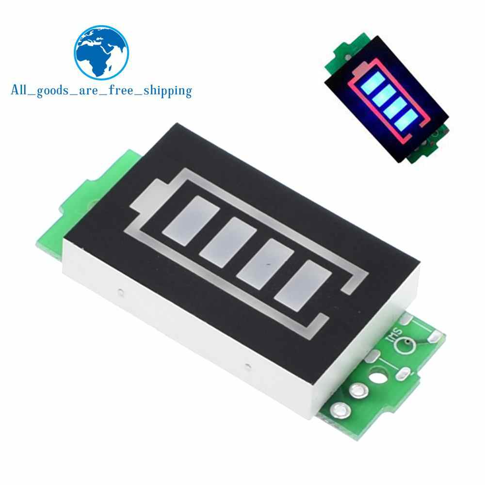 1S 2S 3S 4S Single 3 7V Lithium Battery Capacity Indicator Module 4 2V Blue  Display Electric Vehicle Battery Power Tester Li-ion