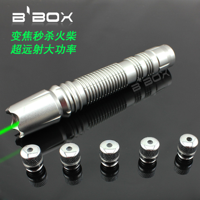 strong power green laser pointers 100000mw 100w 532nm high power Military Burning match,burn cigarettes+5 caps+Changer+gift Box