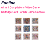 All In 1 Compilations Video Game Cartridge Card For DS Game Console
