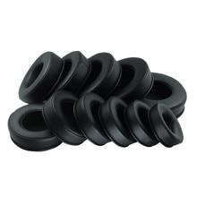 Almofadas de substituição para fones de ouvido, 70mm, 120mm, espuma de qualidade, redonda, para sony, akg, sennheiser