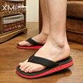 Trend Cool men slip slippers tide pinch flip flops sandals breathable thick soles toe sandals Students sandals beach sandals