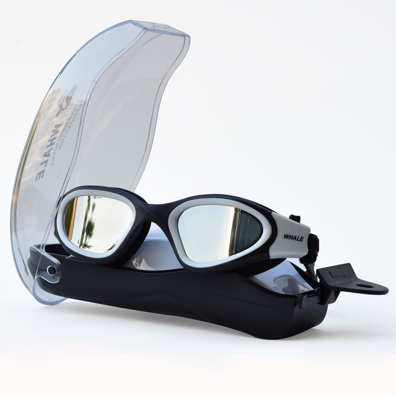 Anti-fog Uv Anti-ultraviolet Men Women Swimming Glasses Eyewear Waterproof Adjustable Silicone Swim Goggles For Swimming