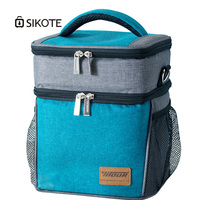 SKIOTE Extra Cooler Bags Oxford 900D Lunch Bag for Food Keeping Fresh Larger Portable Cooler Waterproof Insulated Bag Picnic