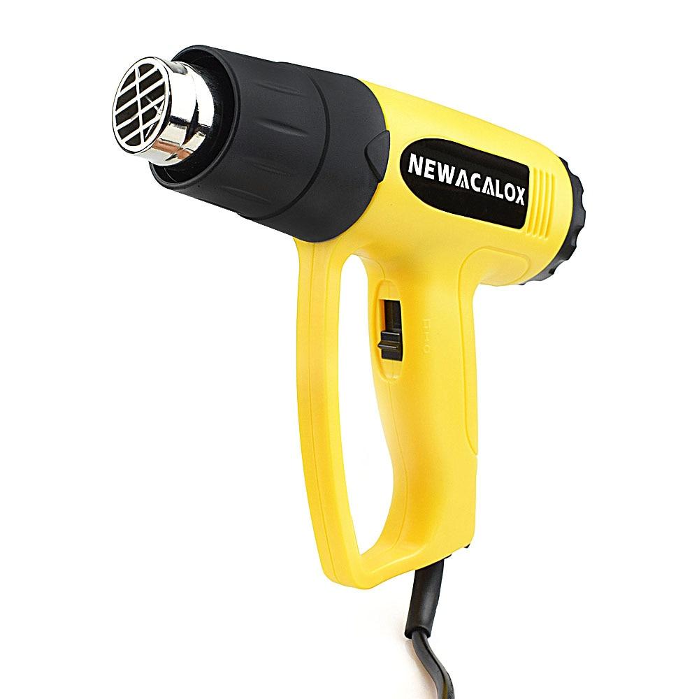 NEWACALOX 2000 vatios 220 V Enchufe de la UE Pistola de aire caliente - Herramientas eléctricas - foto 6