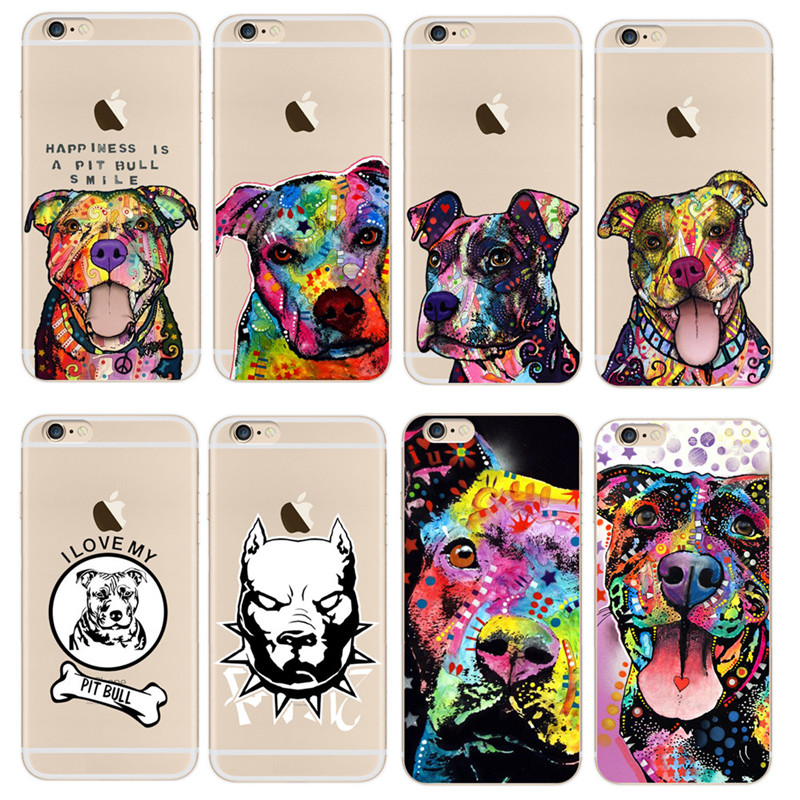 coque iphone 7 pitbull