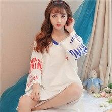 Fashion 2018 Nightdress Women Sleepwear Home Dress for Women Sleepdress Leisure Leisure Nightgown Clothing Girl Gift