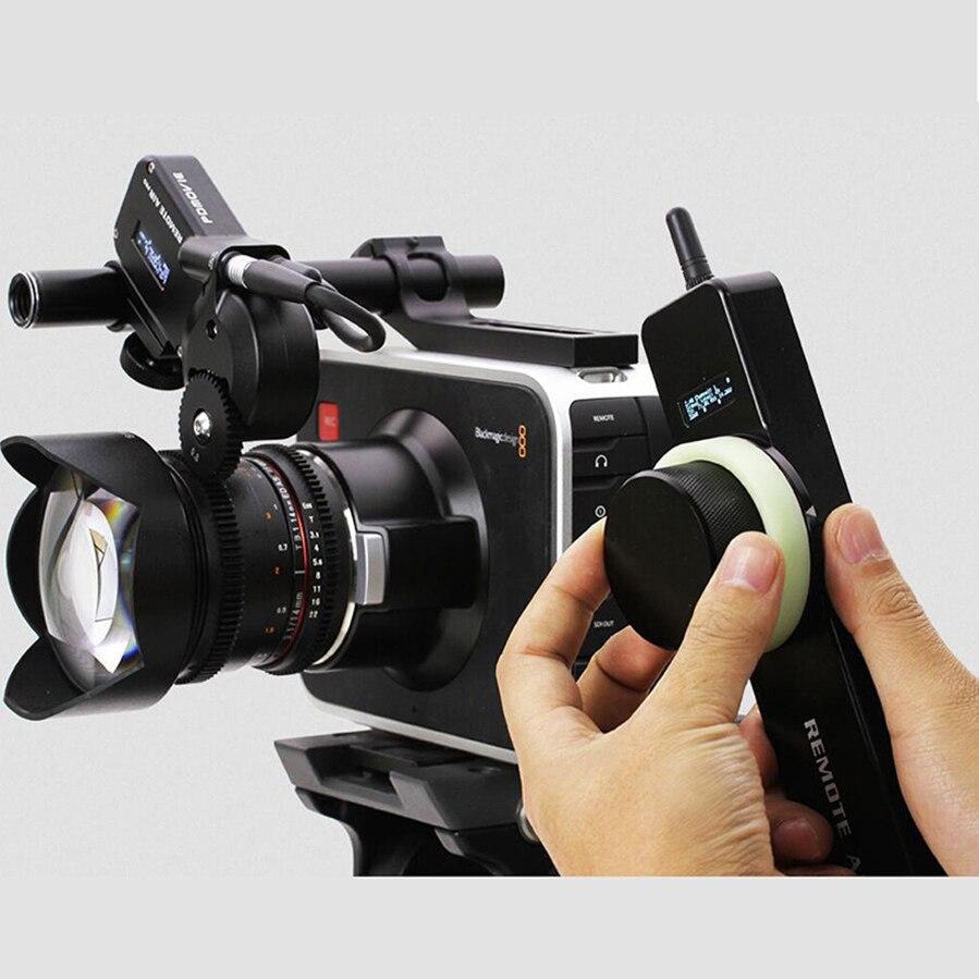 PDMOVIE Aire 2 PD1-N motorizado Remoto inalámbrico follow focus zoom de enfoque para DSLR cámara de la película de la lente EF lente carl zeiss HASTA MP