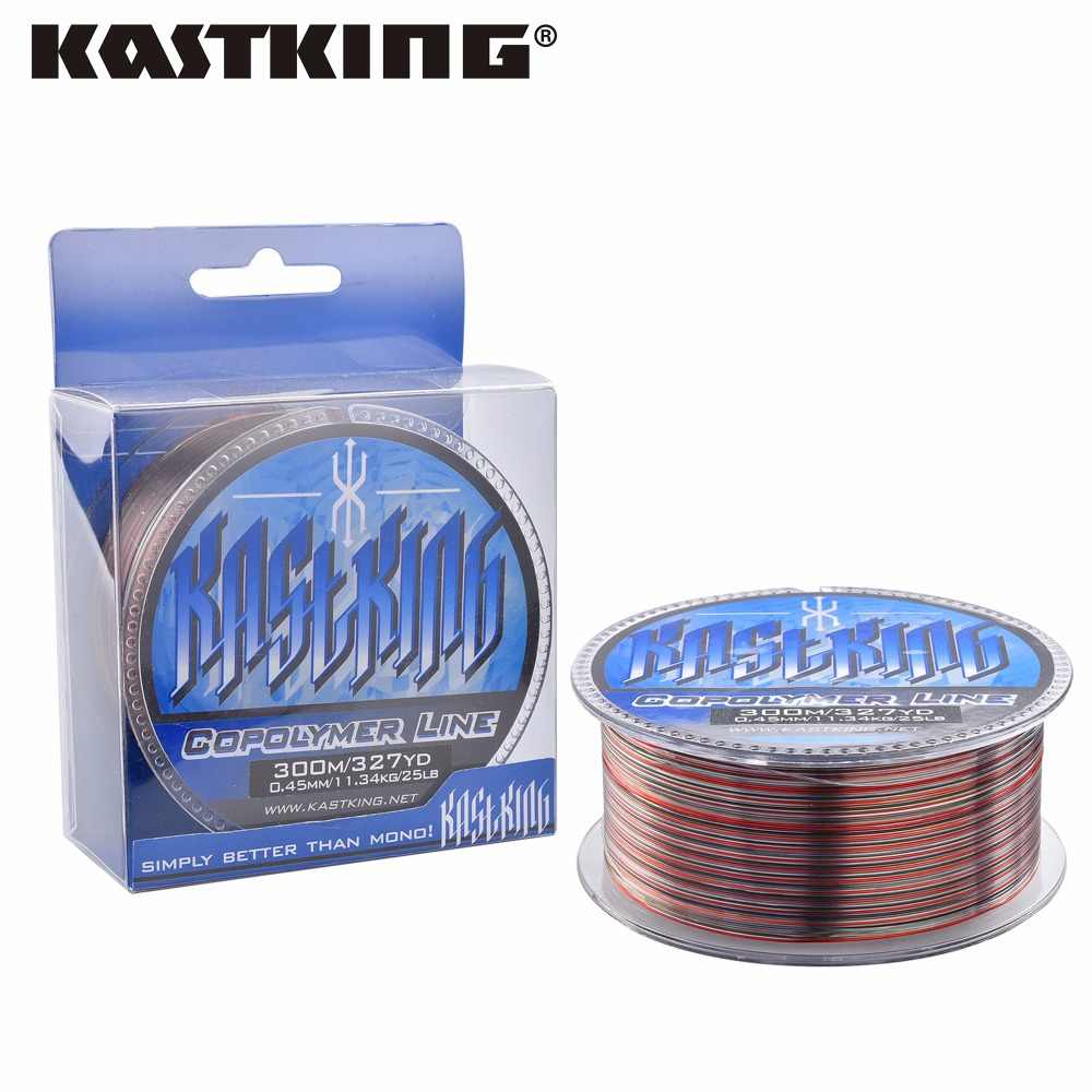 Kastking hot sale 300m monofilament fishing line 100 for Fishing line for sale