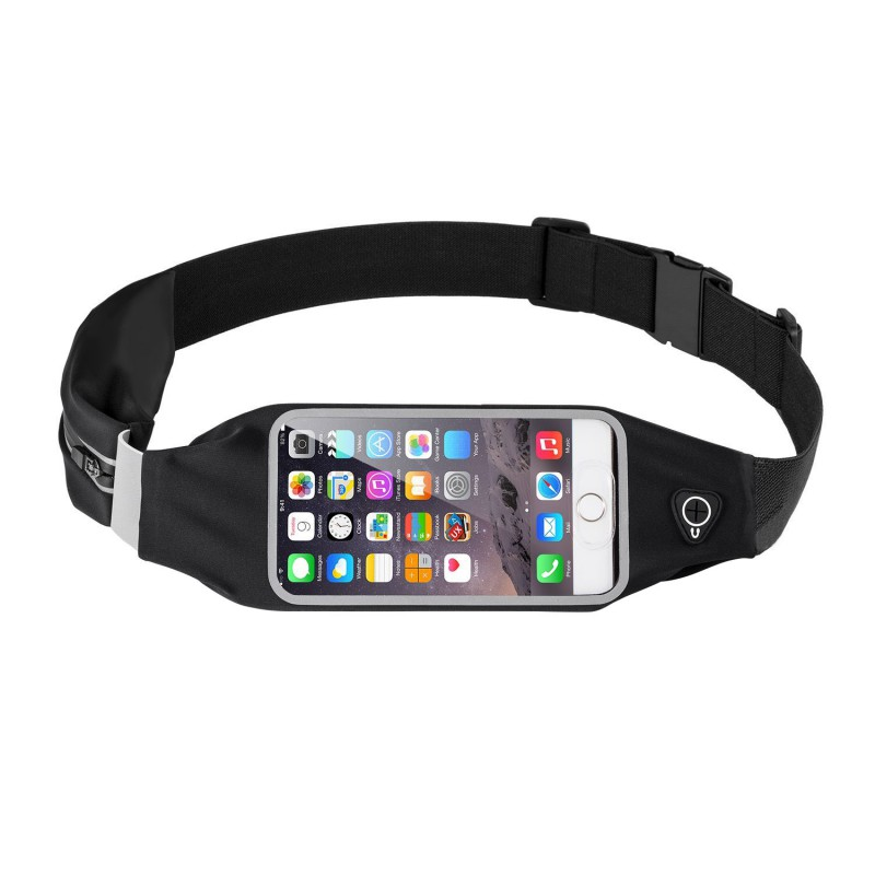 Outdoor Running Sports Waist Belt Phone Bags Case For Iphone/Sony/Huawei Waterproof Hip Pouch Wallet For Samsung/LG Pocket Purse