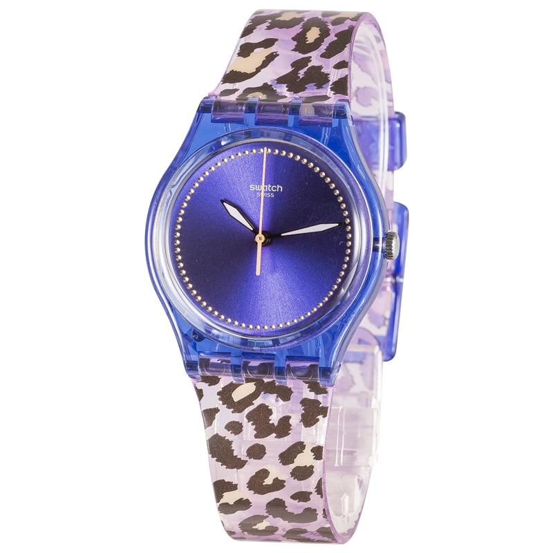 Swatch watch classic color password series Colorful print quartz watch GV130 swatch original colorful quartz watch suob135