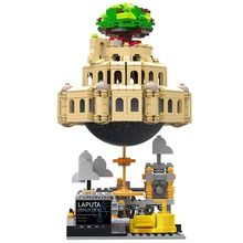 XingBao 05001 1179Pcs Genuine Creative MOC Series The City in The Sky Set Children Educational Building Blocks Bricks Model Gift xingbao 05001 hanging garden of babylon block genuine creative moc series set educational building blocks bricks model 1179 pcs