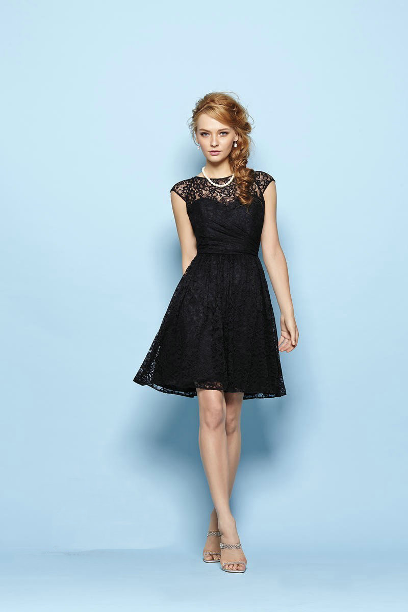 Online Get Cheap Black Lace Bridesmaid Dress -Aliexpress.com ...