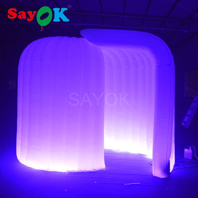3223mh inflatable igloo photo booth with led light strip 3223mh inflatable igloo photo booth with led light strip changeable 17 aloadofball Choice Image