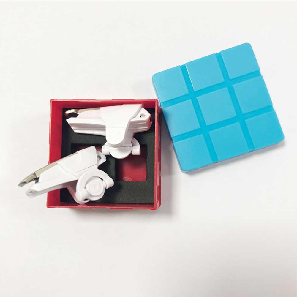 Venta caliente 2 piezas blanco de Metal Joystick Botón de fuego disparar el gatillo L1 + R1 las llaves para el juego PUBG teléfono móvil accesorios y piezas