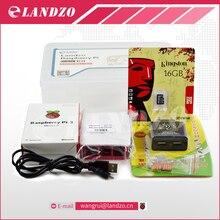 Raspberry pi 3*1 + 16G carte SD * 1 + D'origine shell * 1 + UE puissance plug * 1 + dissipateur de chaleur * 3 + cas pour raspberry pi 3 kit * 1 livraison gratuite