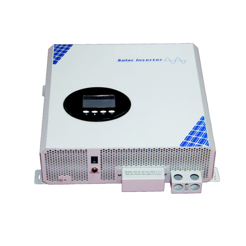 MAYLAR@ 5000va pure sine wave off grid solar inverter with dc48v ac220v high frequency built in55A MPPT controller maylar 22 60v 300w solar high frequency pure sine wave grid tie inverter output 90 160v 50hz 60hz for alternative energy