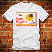 3d78f6ff6 Boardrippaz T Shirt Island Hoppers Magnum Hawaii Retro Vintage Tom Selleck  Pi Tv