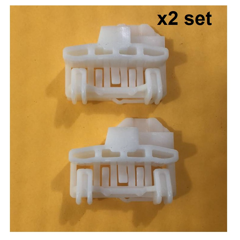 2x Window Regulator Repair Kit Clips For VW POLO 6N1 6N2 Front Right 1994-2001