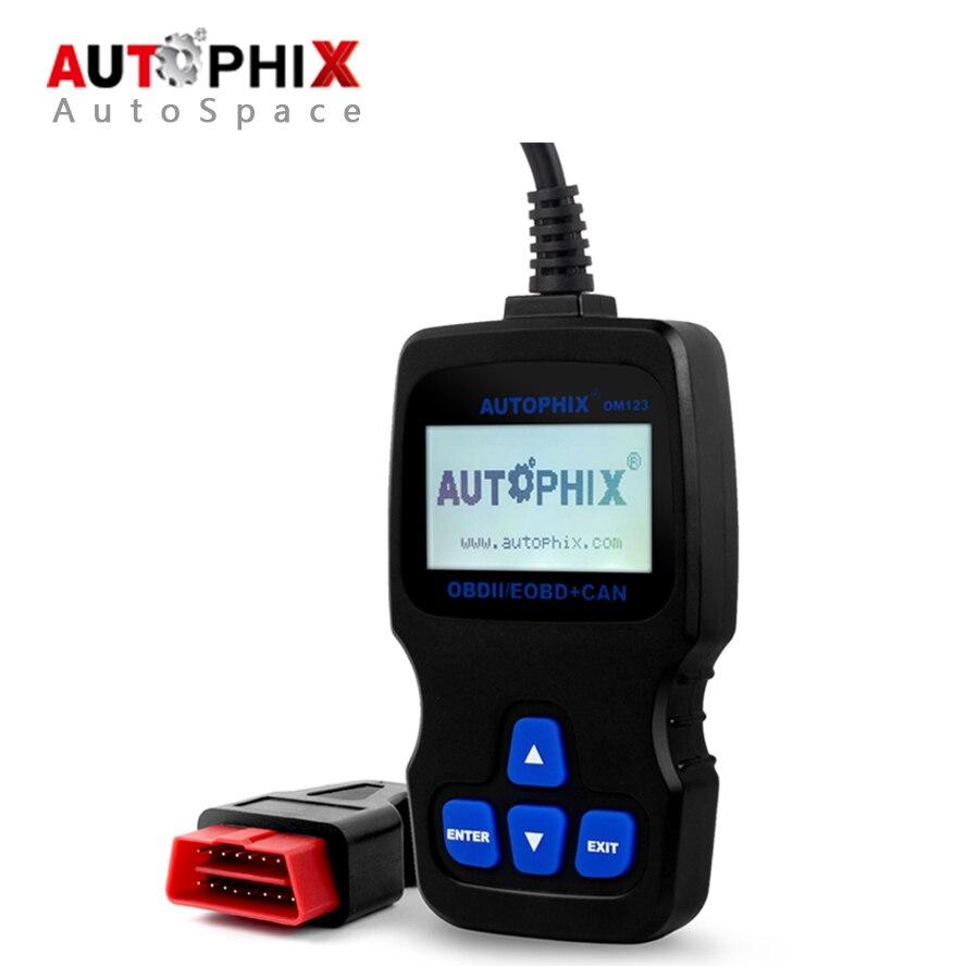 Prix pour Autophix OBDMATE OM123 Voiture De Diagnostic Scanner Universel OBD 2 Scan outil Auto OBD2 Lecteur de Code pour L'essence Diesel PK Ancel AD310
