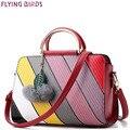 FLYING BIRDS сумки женщин роскошные дизайнер женщин сумки известных брендов кожа bolsas печати дамы сумка кошелек LM4307fb