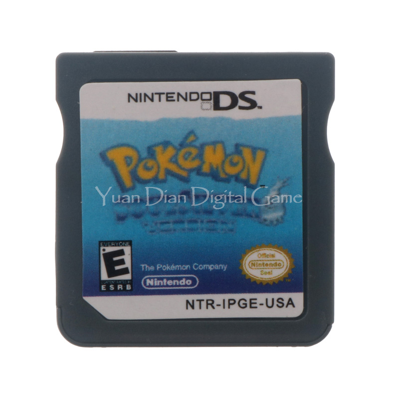 Nintendo NDS Video Game Cartridge Console Card Pokemon Series SoulSilver USA English Language Version