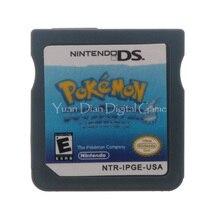 Nintendo nds видеоигры картридж консоли карты покемон серии soulsilver сша английская версия
