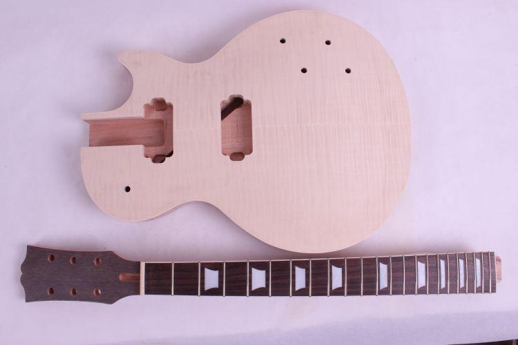 New High Quality Unfinished electric guitar neck guitar Body Solid wood Body & fingerboard new model 1pcs #2 high quality custom shop lp jazz hollow body electric guitar vibrato system rosewood fingerboard mahogany body guitar