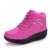 2017 Nova moda Confortável Primavera Outono sapatos sapatos de enfermagem das mulheres balançar sapatos sapatos de trabalho sapatos Casuais cunhas forma plat tamanho 36-40
