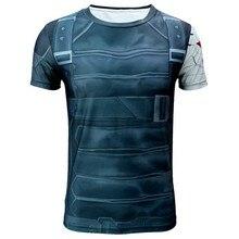 New 2015 men Iron man tight news Quick dry, brand man short sleeve T-shirt size XS-XXXXL