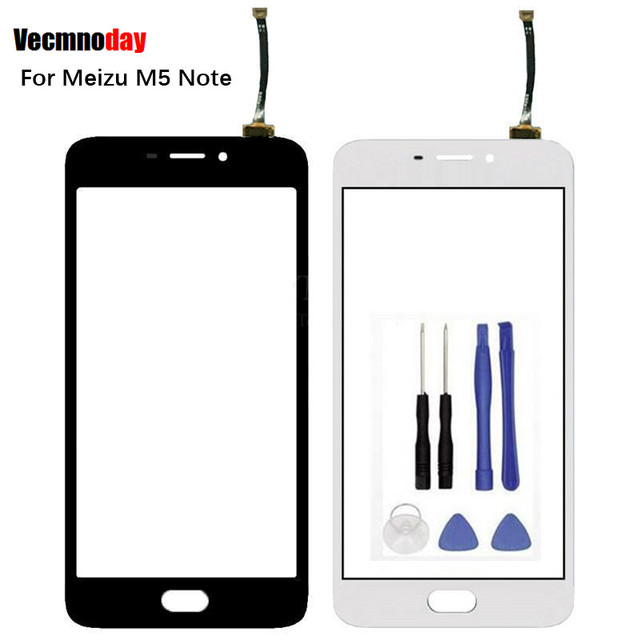 Vecmnoday Touch Screen For Meizu M5 Note M 5 Note Digitizer Sensor Replacement Original Touch Panel Perfect Repair Parts+tools