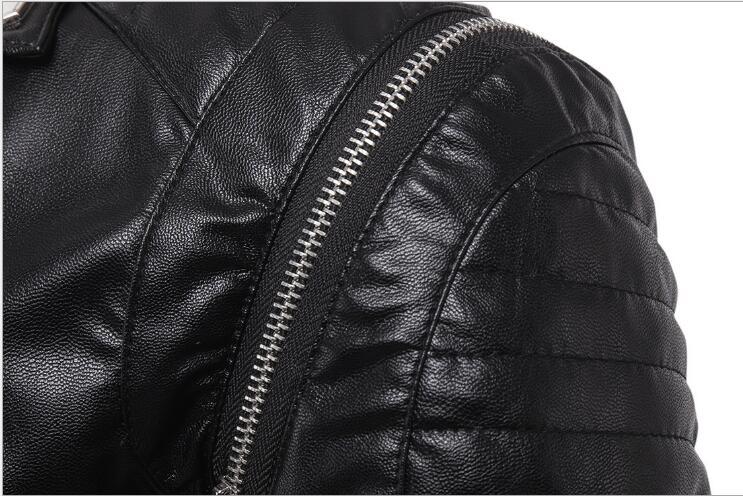 Faux Pour De Fit Hot M Cuir En Punk Manteaux Coréenne Noir Moto Hommes Vestes Mode Élégant 5xl Veste Slim SqwZHSY