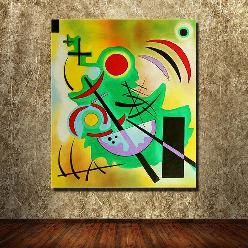 WASSILY KANDINSKY Wall Pictures For Living Room Bedroom Canvas Art Home Decor Modern Oil Painting No