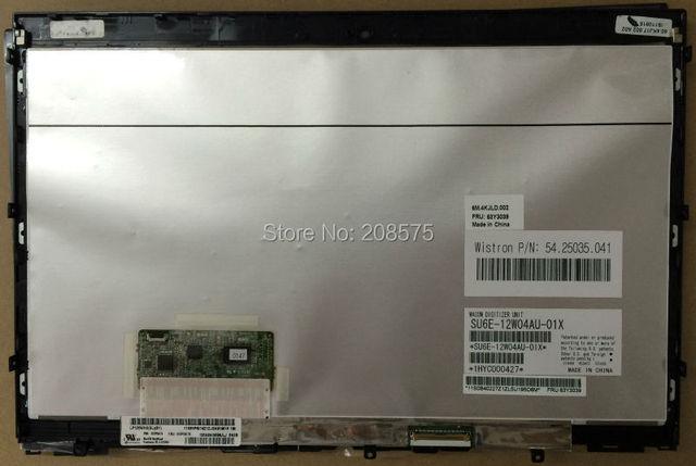 """El envío gratuito! 12.5 """"laptop pantalla LCD Asamblea para IBM X220T X230T LP125WH2 SLB1 Con IPS LCD de Pantalla táctil digitalizador"""