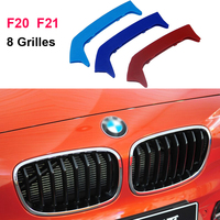 For 2012 2014 BMW 1 Series F20 F21 116i 125i M135i 8 Grills 3D Front Grille