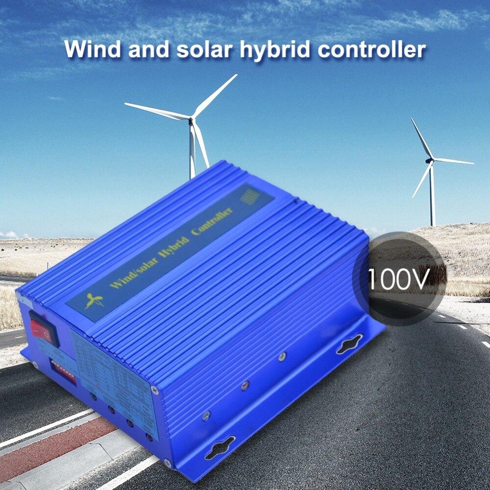 Contrôleur de Charge hybride solaire de vent sur le commutateur de réverbère de photocellule PV/système d'énergie éolienne panneau solaire Auto 12 V/24 V