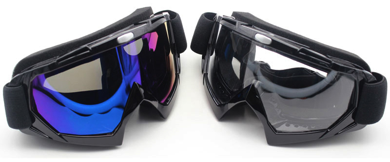 Nuoxintr Universal Motocross MX Glasses 100% Outdoor Sport motorcycle dirt bike goggles MAN for KTM CLEAR Multicolor