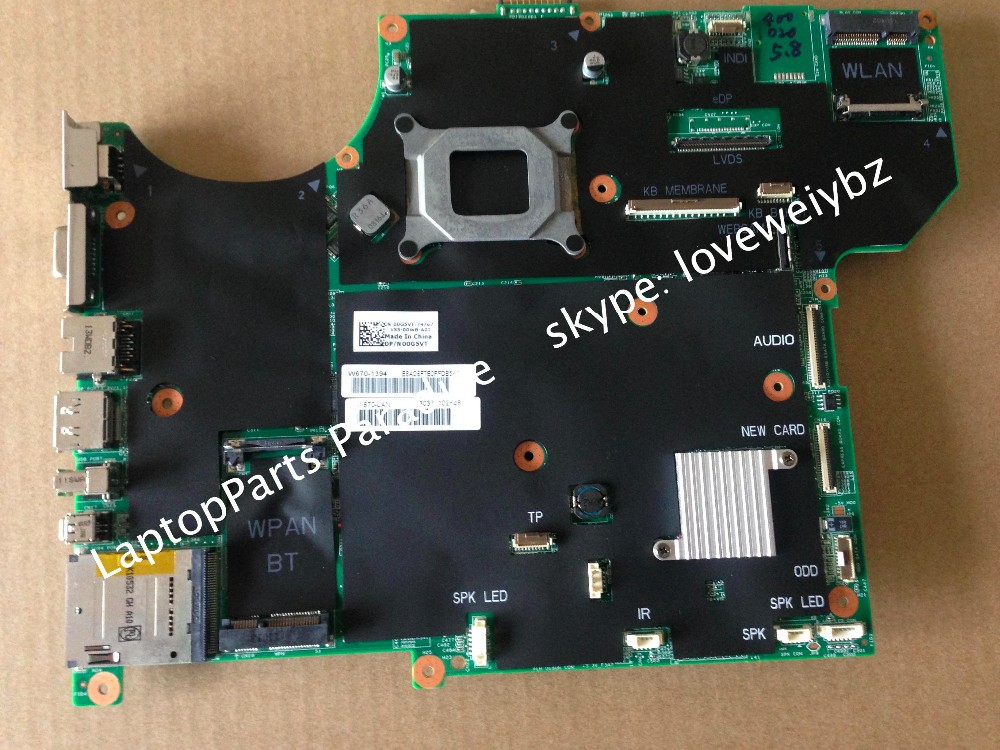 100% working DP/N 00G5VT For Dell Alienware M15X R2 Laptop Motherboard CN-00G5VT Mainboard  цены онлайн
