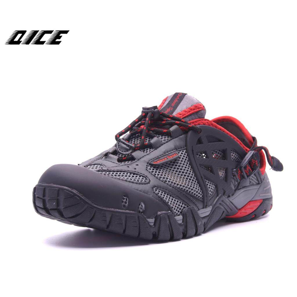 13e6942ac77 2017 Men Hiking Shoes Outdoor Sneakers Breathable Sport Shoes Men Big Size  Hiking Sandals For Men