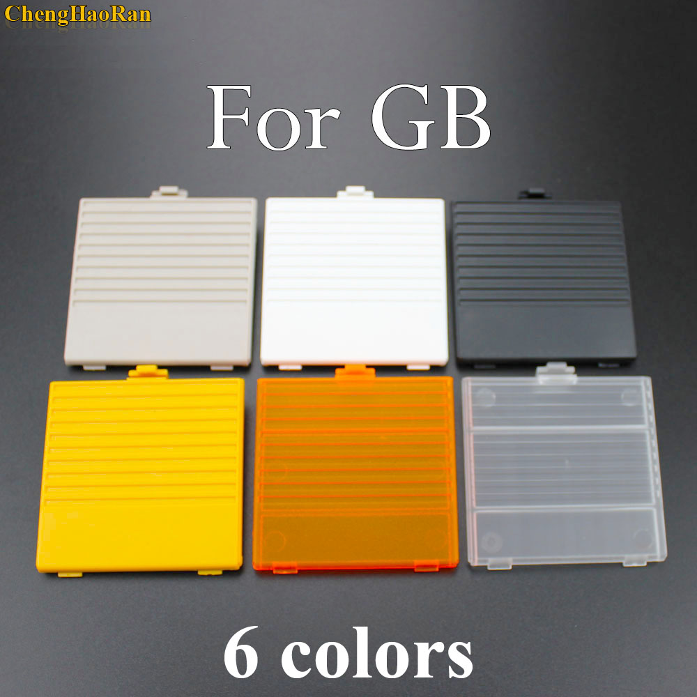 ChengHaoRan 1pcs For GameBoy Classic DMG GBO Battery Cover case Holder For GB Back Pack Door Replacement Repair Parts