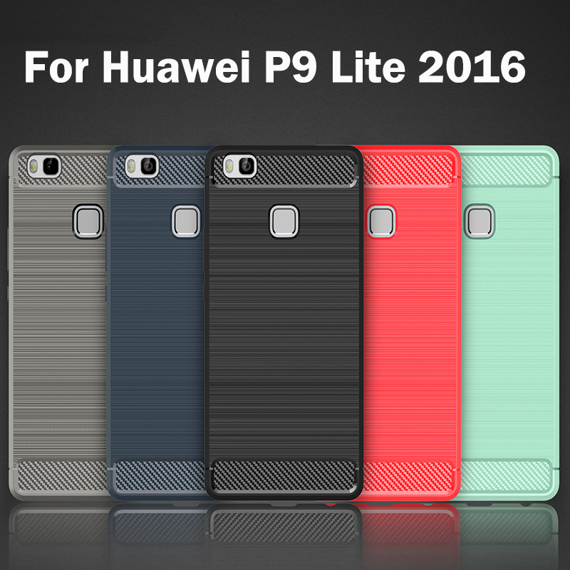 Cases for Huawei L21 P9 Lite 2016 VNS L21 L31 L22 L53 L51 L52 Silicon Thin Back Cover fo ...