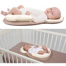 Для новорожденных Портативный совместного сна кроватки детской сна коврик с подушкой защита безопасный кроватка, матрас для маленьких мальчиков девушка кровать cuna colecho